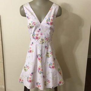 Victoria's Secret Open Back Floral Dress
